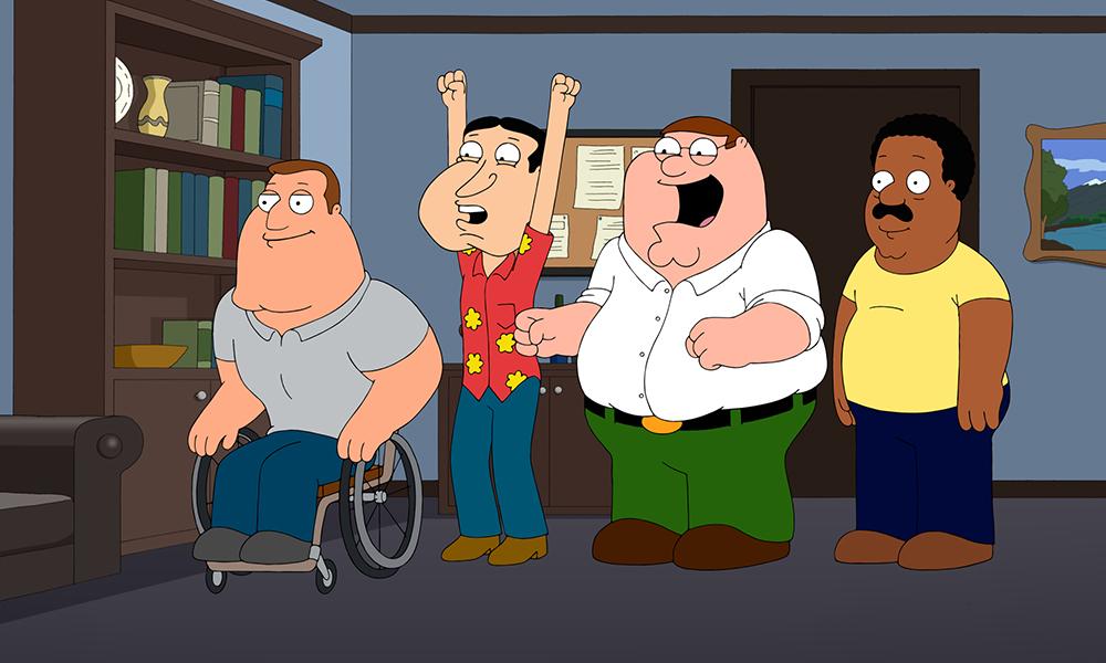 Best TV Neighbors   Family Guy