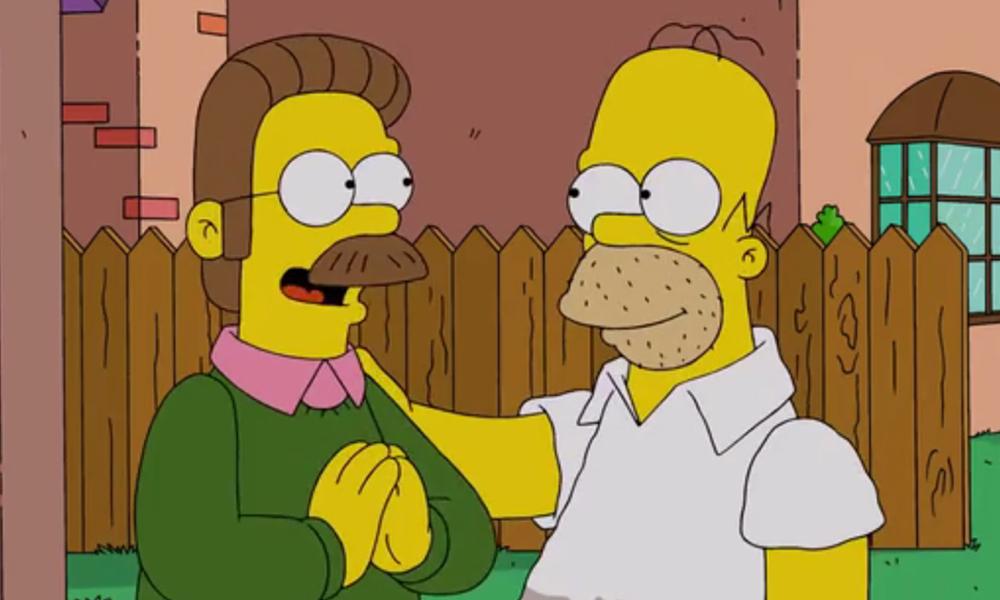 Best TV Neighbors   Simpsons