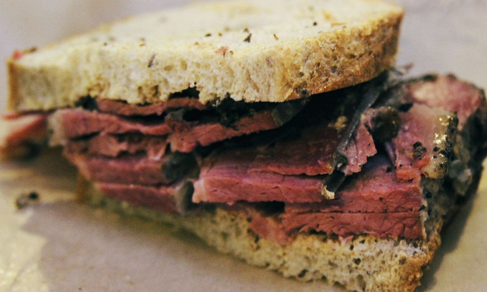 Best Hot Sandwiches | Hot Pastrami on Rye