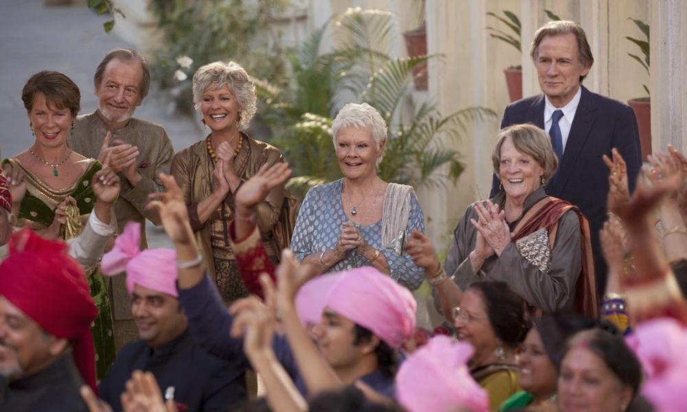 Best Old-Timer Films - Best Exotic Marigold hotel