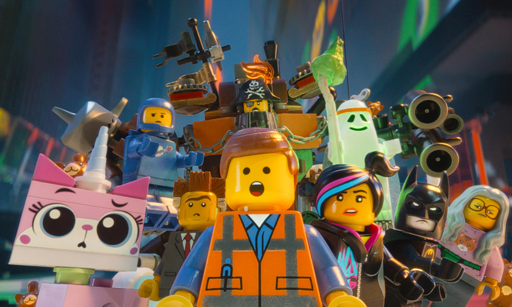 Best 3D Movies - The Lego Movie