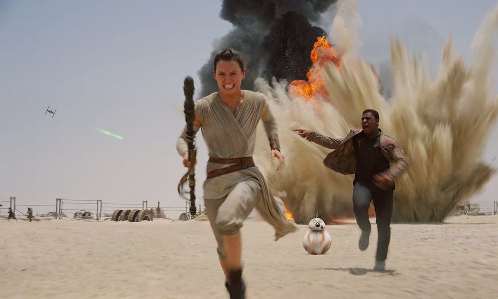 Best 3D Movies - Star Wars The Force Awakens